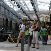 S. Welz, Regiebesprechnung, Mailand, Christina Aguilera-TV-Konzert