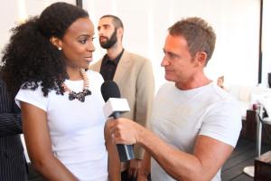 Kelly Rowland mit Bernd Schumacher Top20 radio