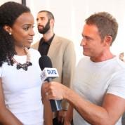 Kelly Rowland im Interview mit Bernd Schumacher