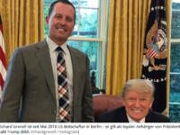 Trump und sein Botschafter Grenell setzen sich für Schwule und Lesben ein