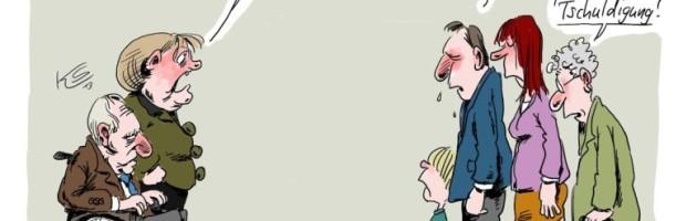Kanzlerin Merkel eine Terroristin?